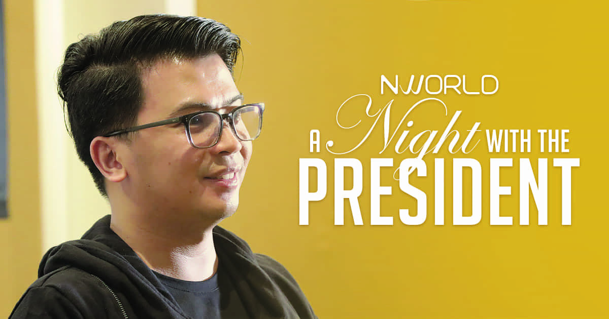 NWORLD A NIGHT WITH THE PRESIDENT